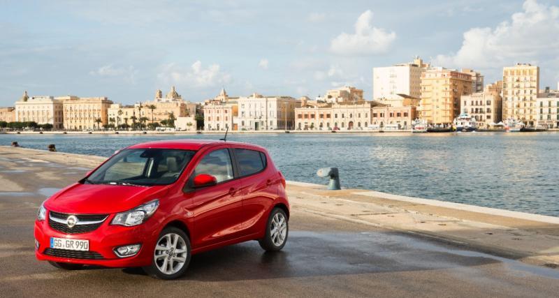 Opel Karl : une mini citadine cinq portes sous les 10 000 euros