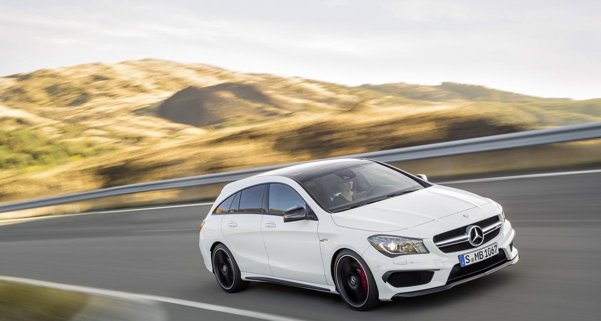 Mercedes CLA Shooting Brake : sur les traces de la CLS