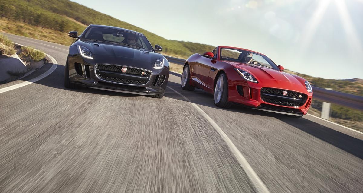 La Jaguar F-Type gagne une boîte manuelle et une transmission intégrale