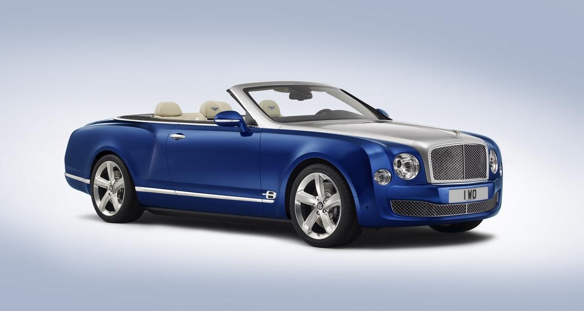 Bentley Grand Convertible : la Mulsanne enlève le haut