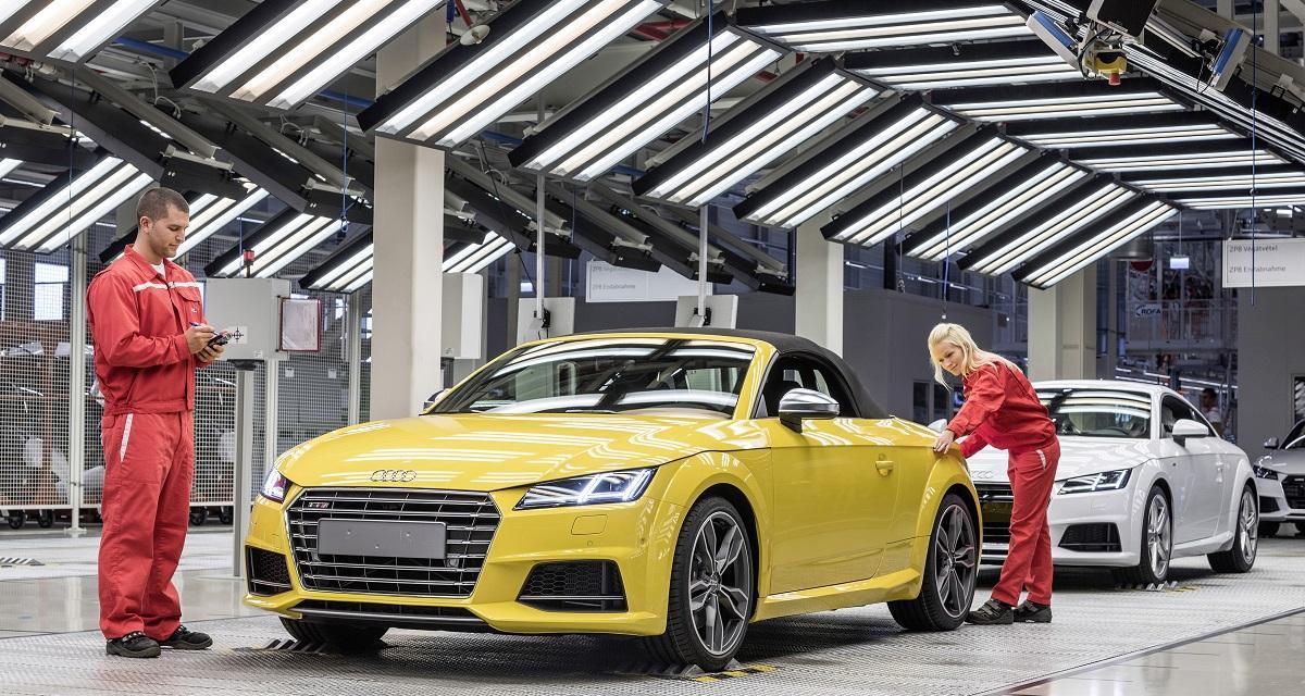 Audi TT Roadster : la production démarre
