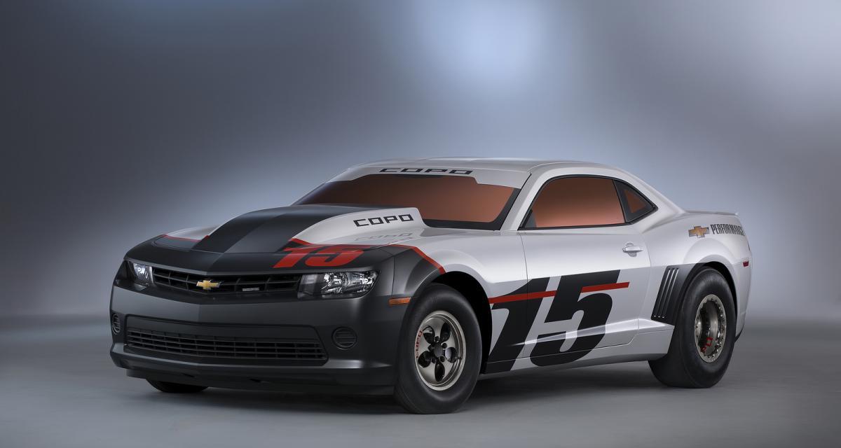 La Chevrolet Camaro en force au SEMA 2014