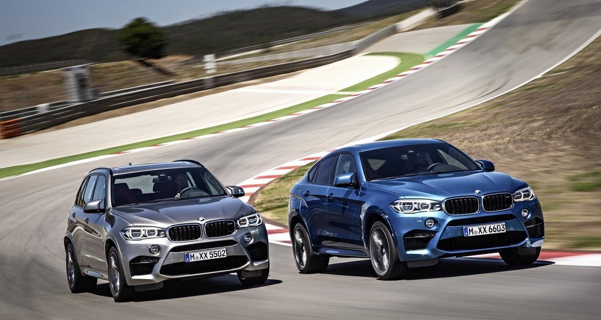 Nouveaux BMW X5 M et X6 M : plus puissants mais plus écolos