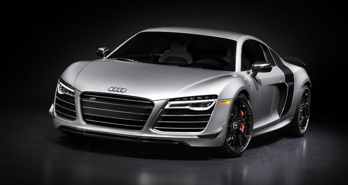 Audi R8 Competition : une LMX sans laser pour les Etats-Unis