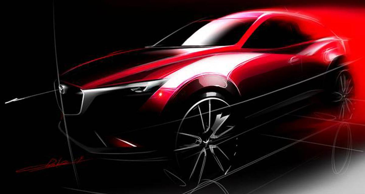 Le Mazda CX-3 sera présenté à Los Angeles