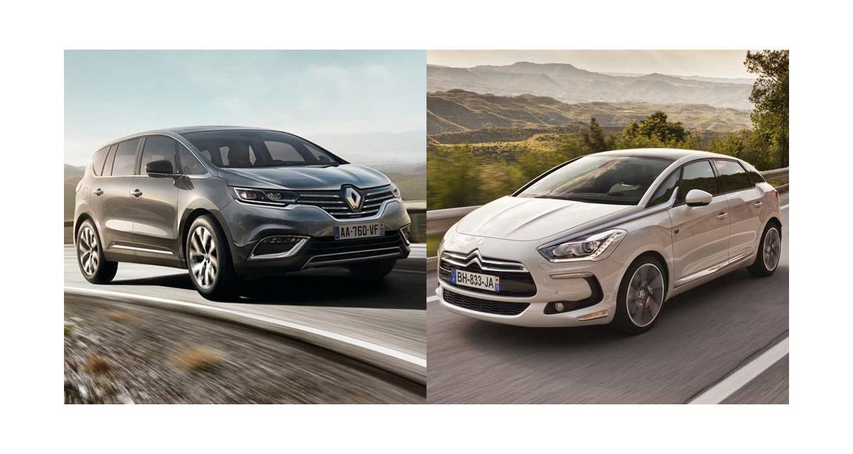 Renault Espace 5-Citroën DS5 : le duel inattendu