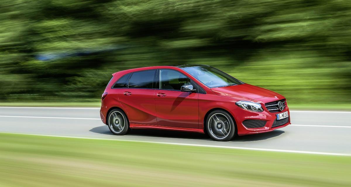 Mercedes Classe B restylé : les tarifs