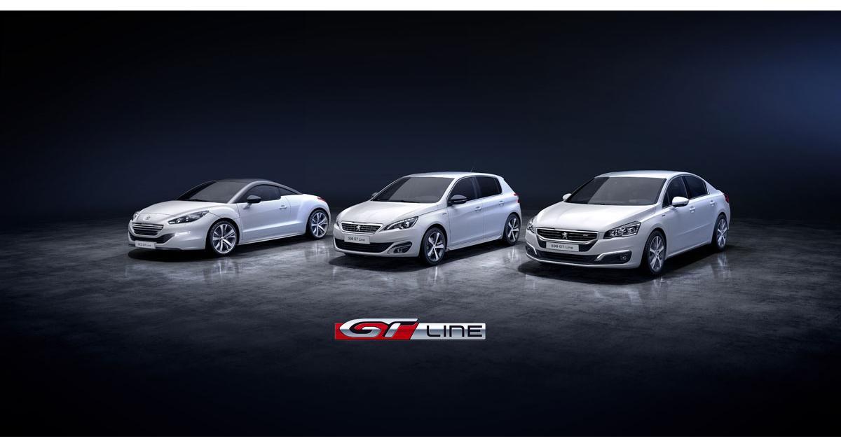 Peugeot : une finition GT Line pour les 308, 508 et RCZ