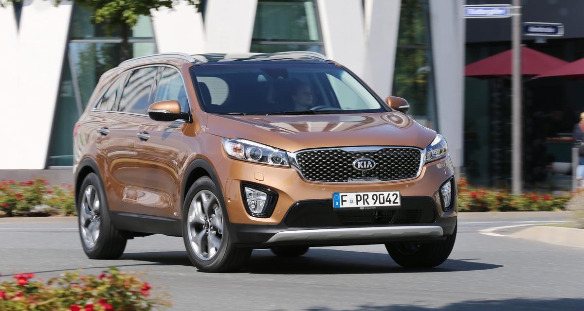 Mondial de l'Automobile 2014 : Nouveau Kia Sorento
