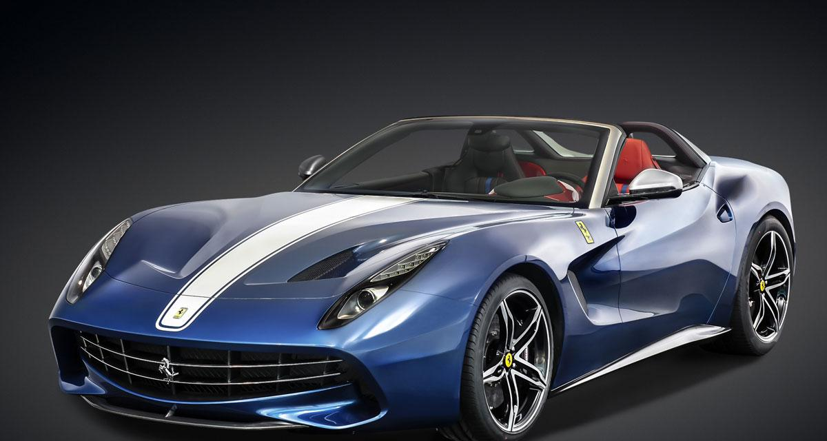 Ferrari F60 America : F12 Berlinetta topless, acte II