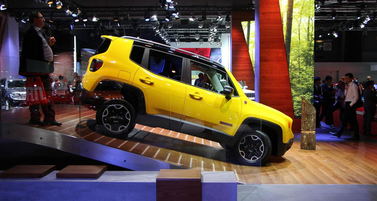 Mondial de l'Automobile 2014 : Jeep Renegade