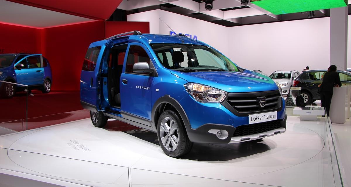 Mondial de l'Automobile 2014 : Dacia Dokker et Lodgy Stepway