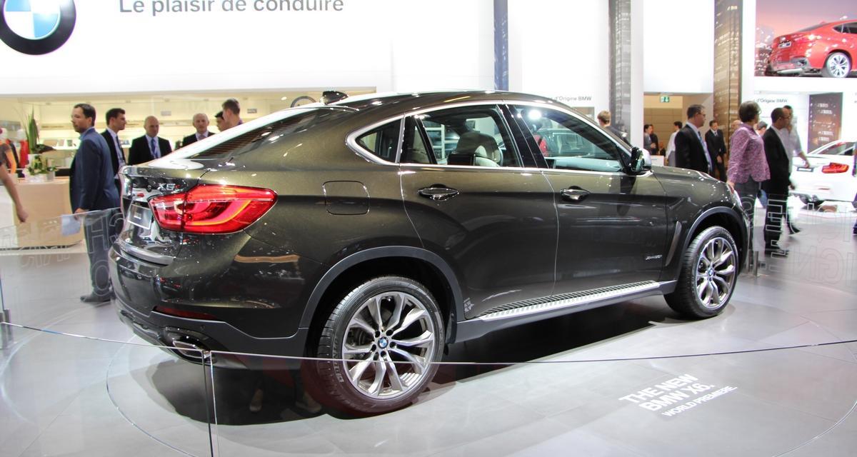 Mondial de l'Automobile 2014 : nouveau BMW X6