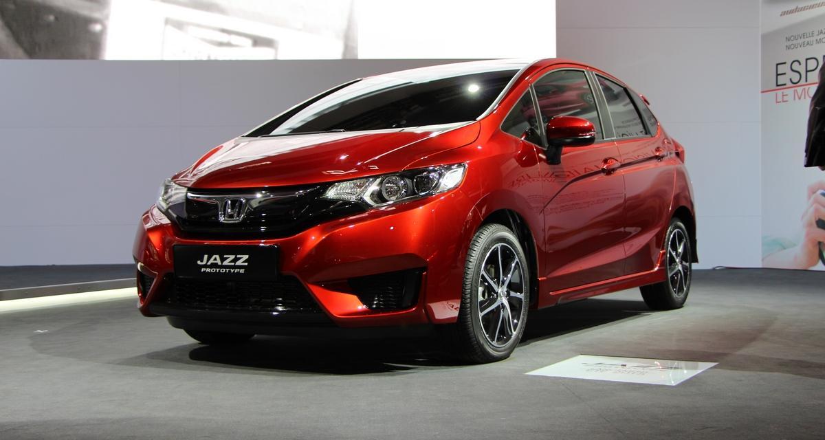 Mondial de L'Automobile 2014 : nouvelle Honda Jazz