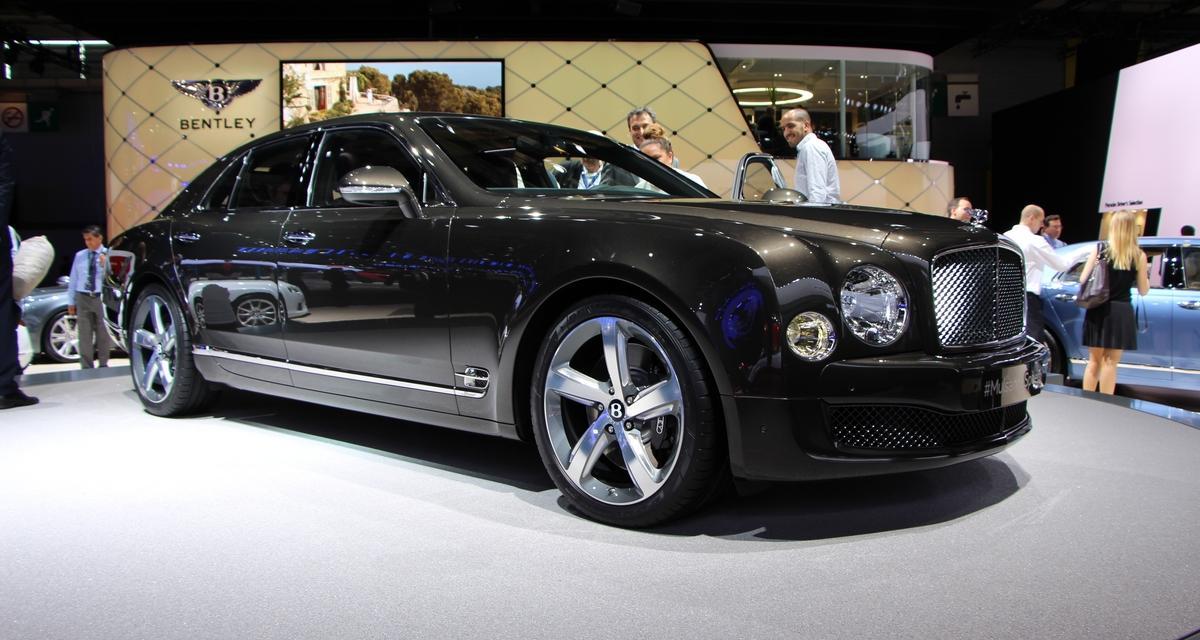 Mondial de l'Automobile 2014 : Bentley Mulsanne Speed