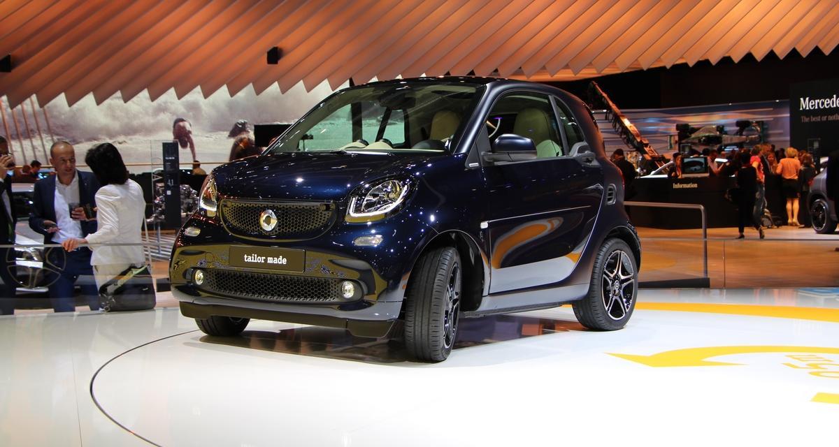 Mondial de l'Automobile 2014 : nouvelle Smart Fortwo