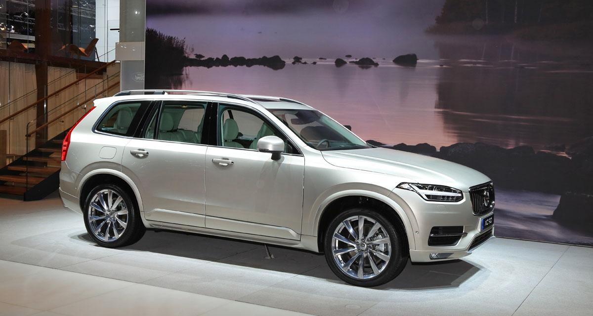 Mondial de l'Automobile 2014 : Volvo XC90