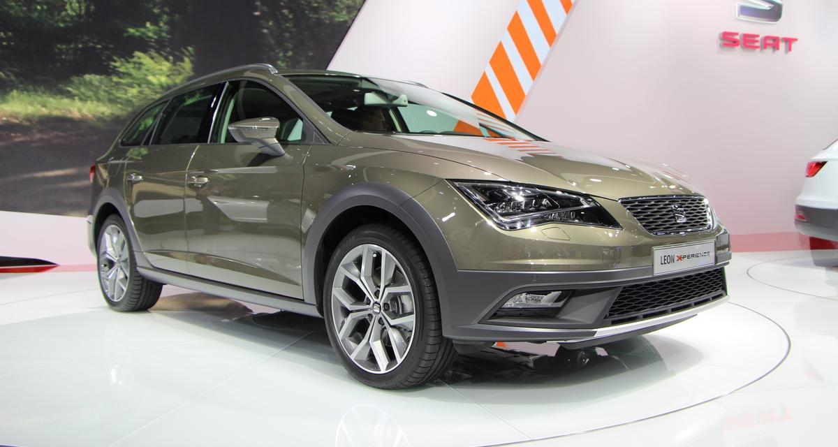 Mondial de l'Automobile 2014 : Seat Leon X-Perience