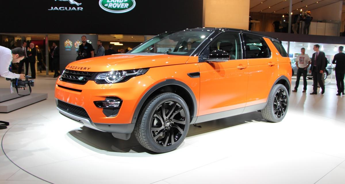 Mondial de l'Automobile 2014 : Land Rover Discovery Sport