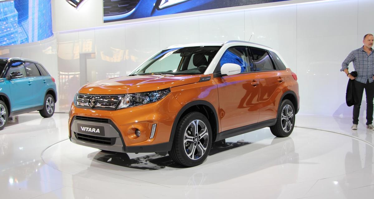 Mondial de l'Automobile 2014 : Suzuki Vitara
