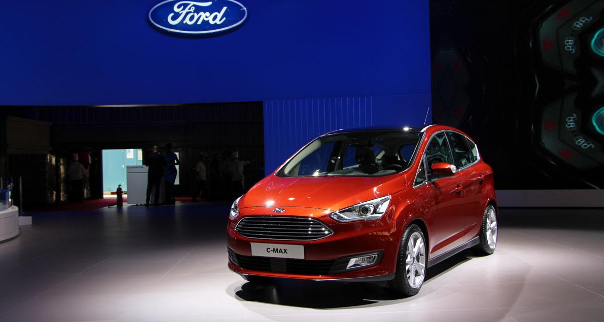 Mondial de l'Automobile 2014 : Ford C-Max restylé