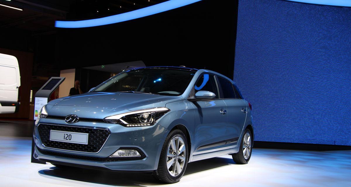 Mondial de l'Automobile 2014 : Hyundai i20