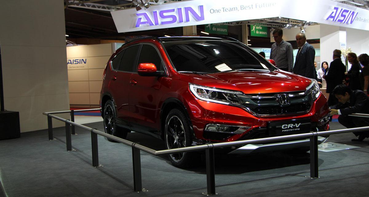 Mondial de l'Auto 2014 : Honda CR-V