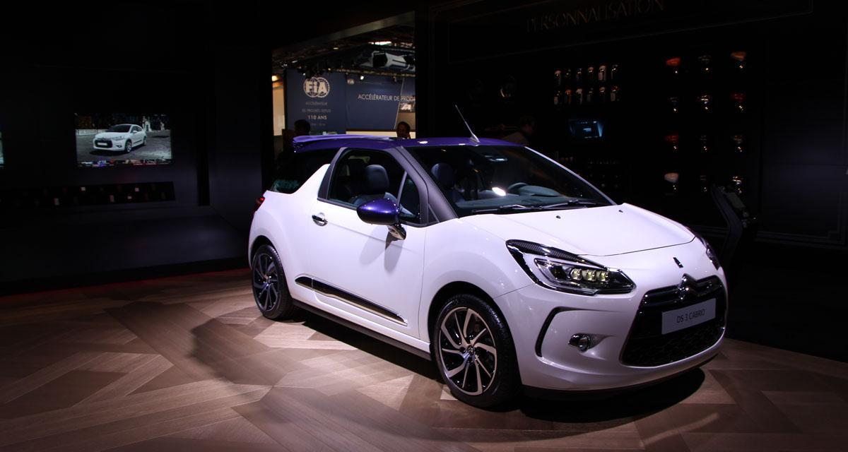 Mondial de l'Automobile 2014 : DS 3 restylée