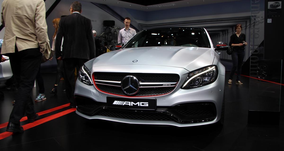 Mondial de l'Auto 2014 : Mercedes-AMG C 63
