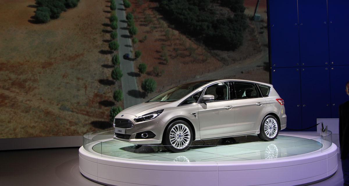 Mondial de l'Auto 2014 : Nouveau Ford S-Max