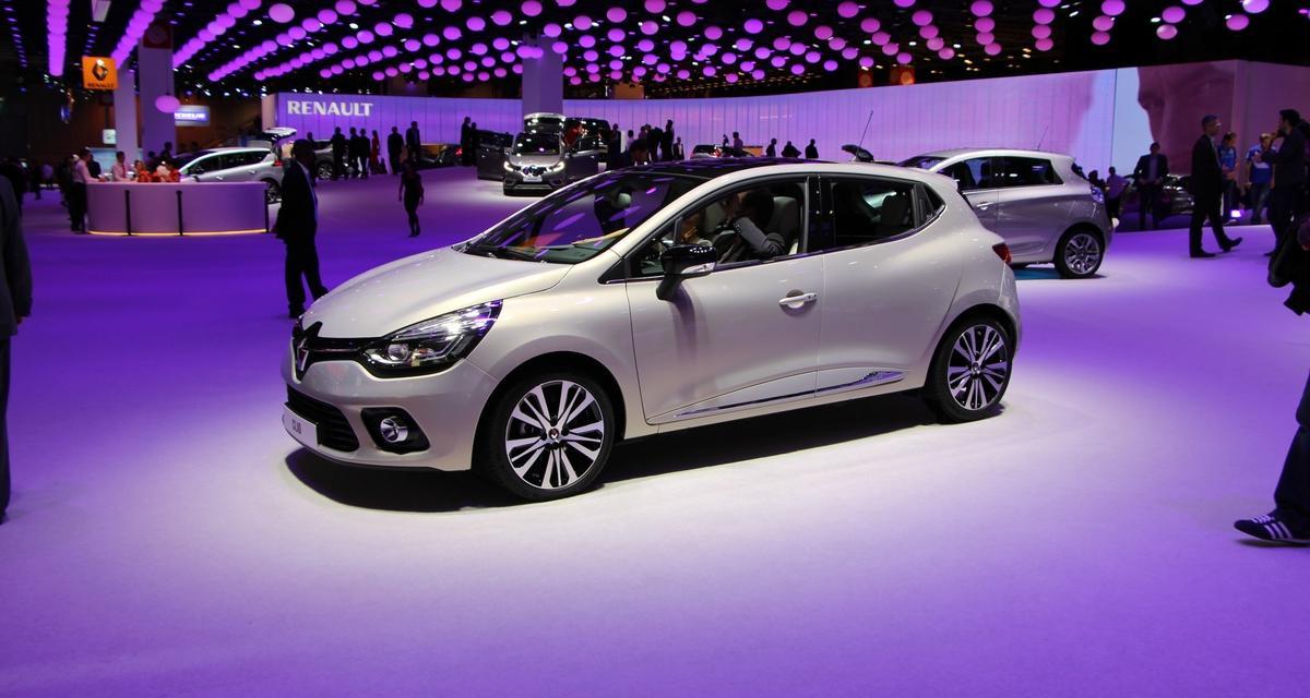 Mondial de l'Auto en direct : Renault Clio Initiale Paris