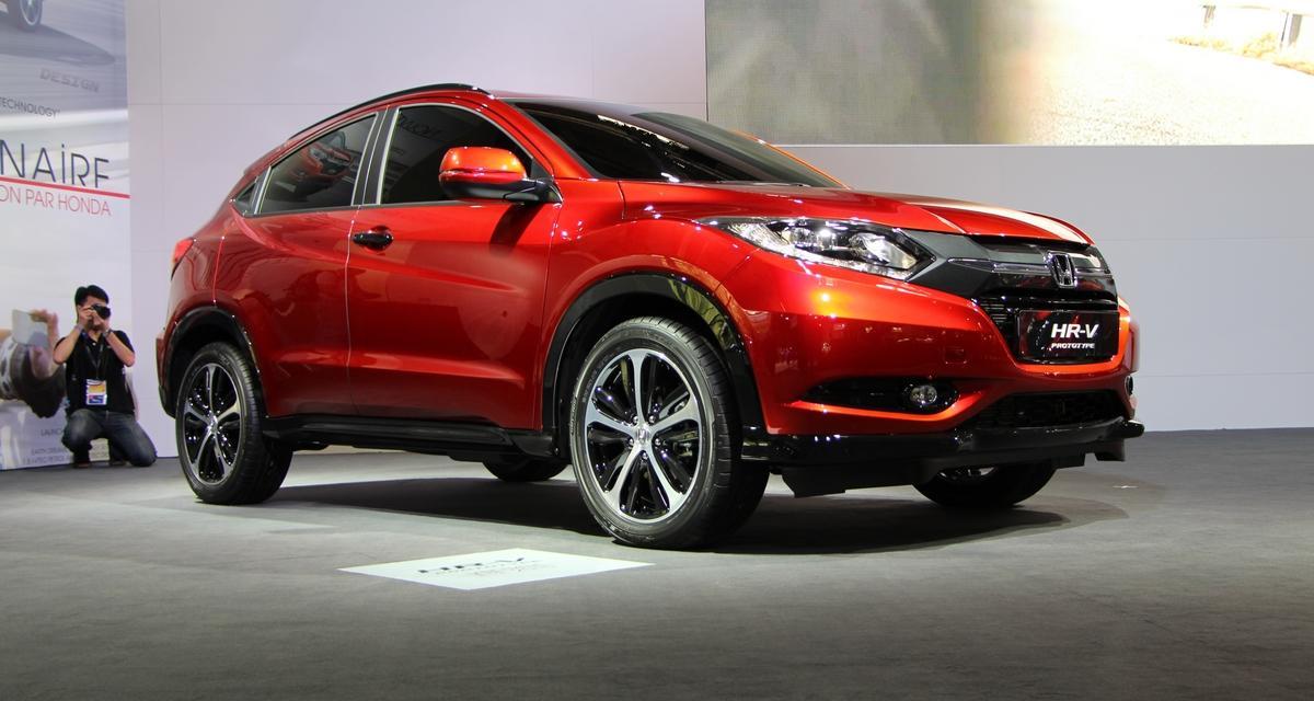 Mondial de l'Auto en direct : Honda HR-V