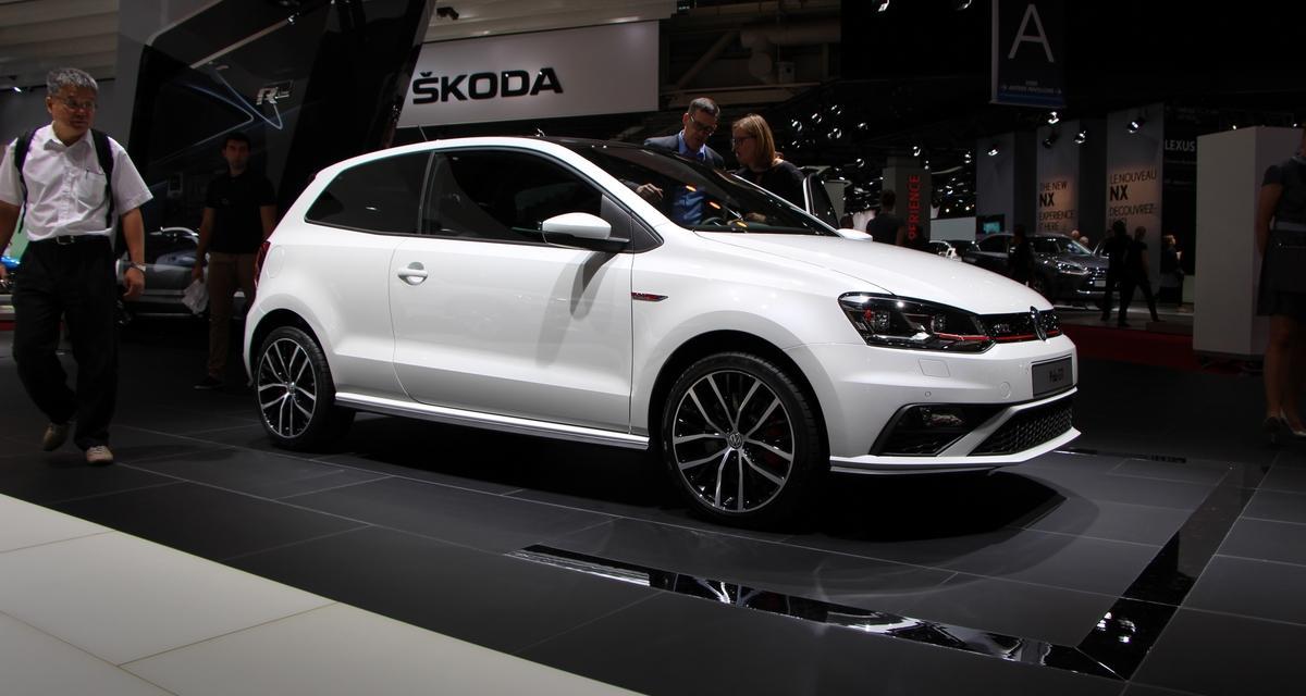 Mondial de l'Auto en direct : Volkswagen Polo GTI restylée