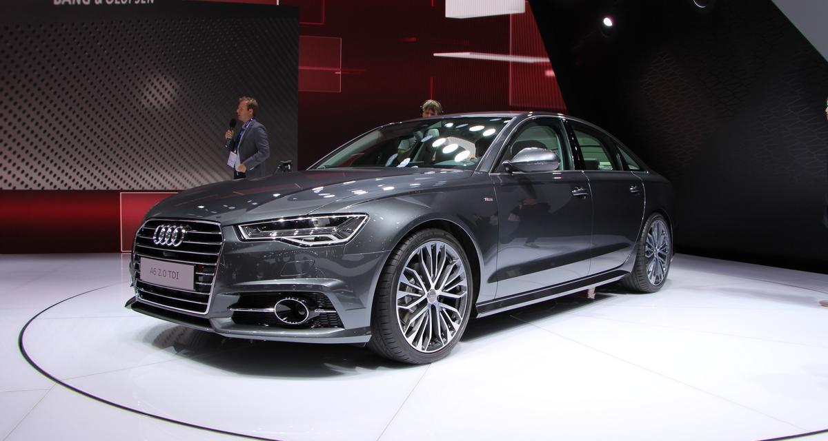 En direct du Mondial de l'Auto : Audi A6 restylée