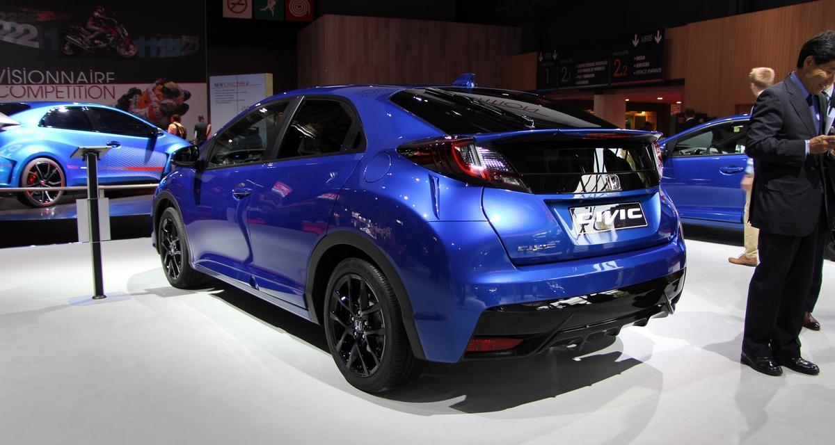 Mondial de l'Automobile en direct : Honda Civic restylée