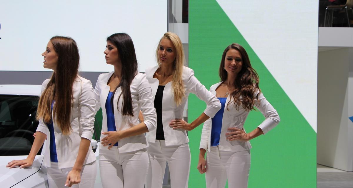 Mondial de l'Auto 2014 : les plus belles photos des hôtesses
