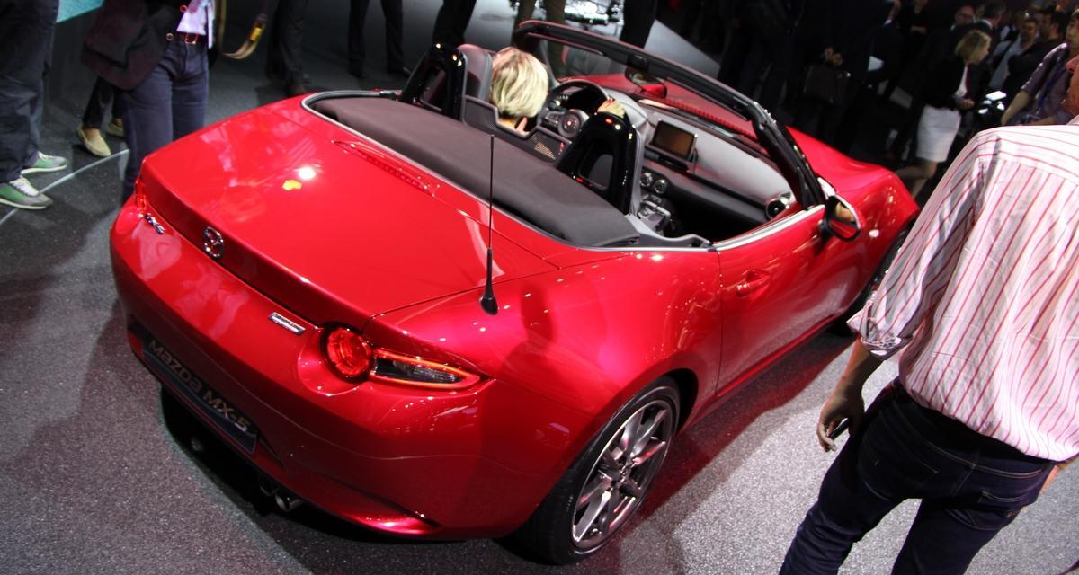 Mondial de l'Auto en direct : nouvelle Mazda MX-5