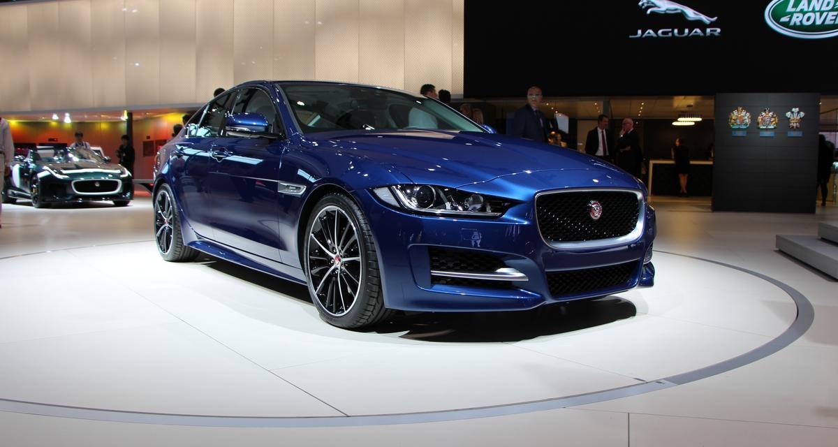 Mondial de l'Auto 2014 : la Jaguar XE en direct