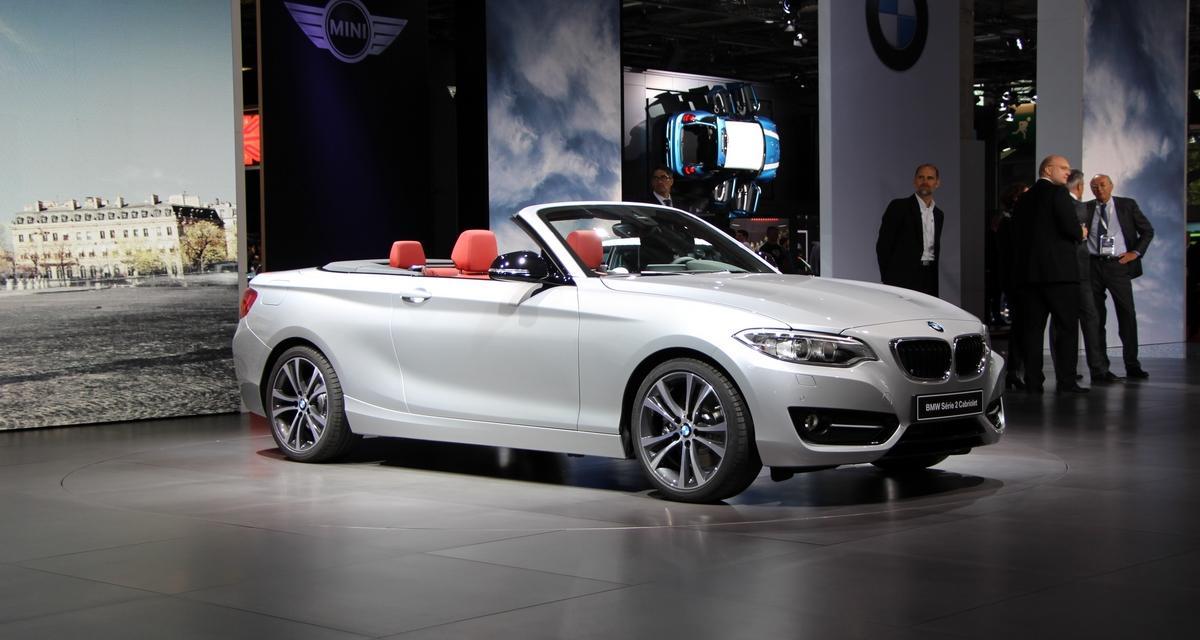 Mondial de l'Auto 2014 : BMW Série 2 Cabriolet (en direct)