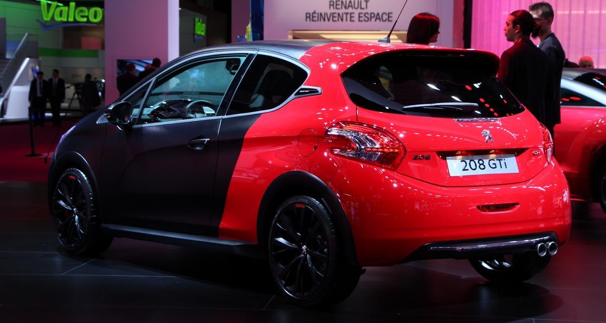 Mondial de l'Auto : Peugeot 208 GTI 30th, toutes les photos (+ vidéo)