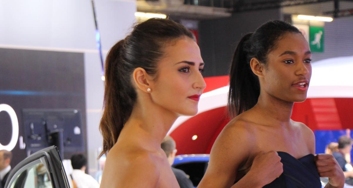 En direct du Mondial de l'Auto : toutes les photos des hôtesses