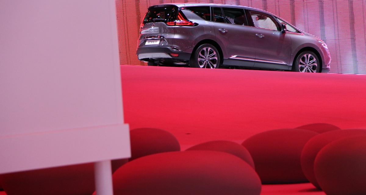 En direct du Mondial de l'Auto : nouveau Renault Espace