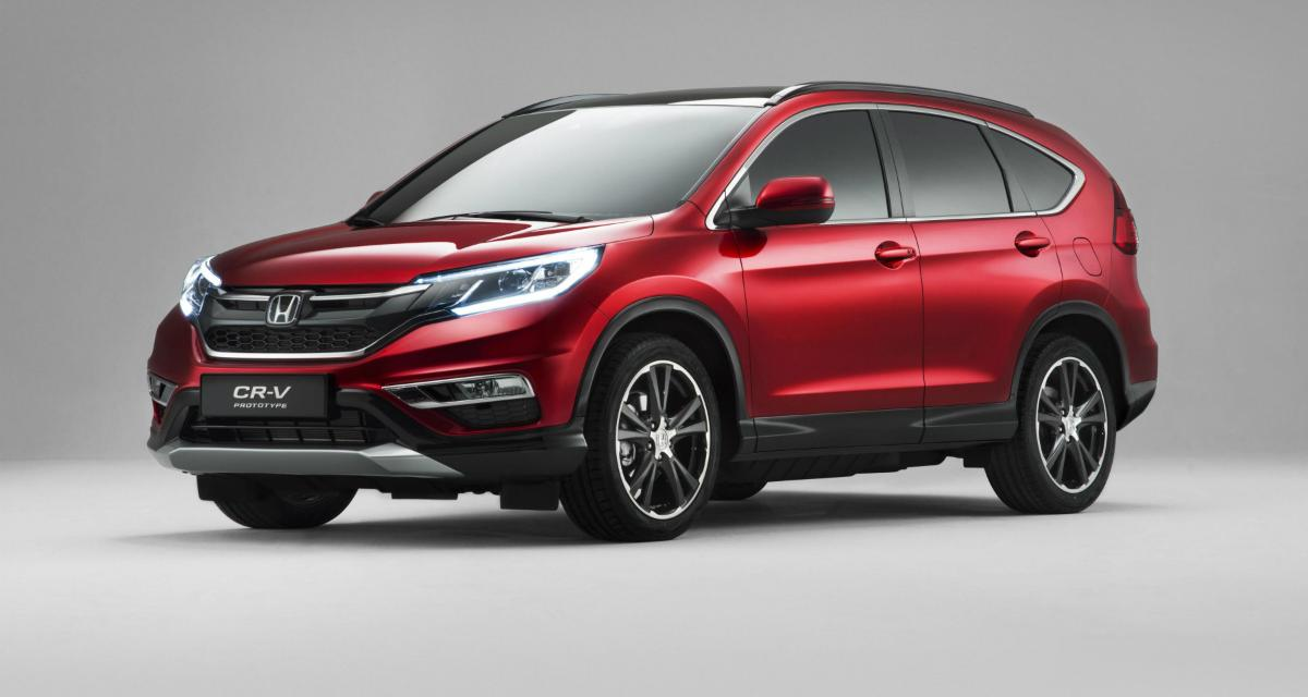 Honda CR-V restylé : un nouveau moteur 1.6 diesel de 160 ch