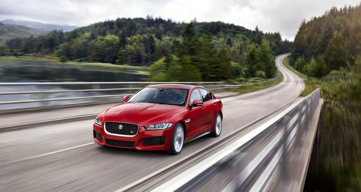 Jaguar XE : 3,8 l/100 km