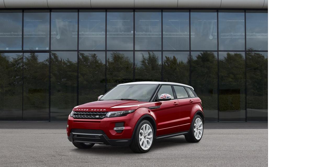 Mondial 2014 : Range Rover Evoque British Edition