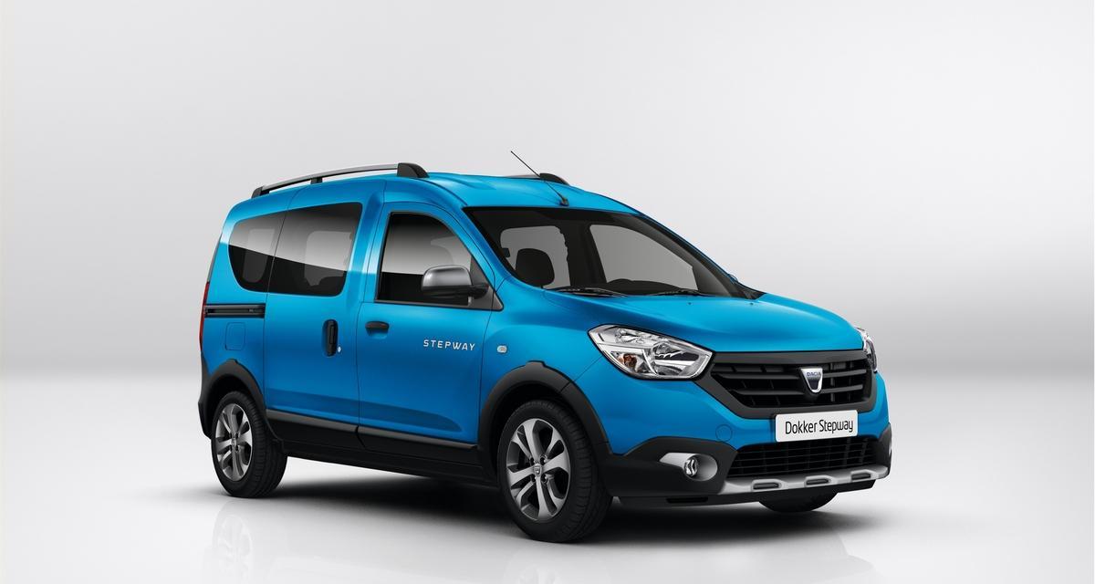 Dacia : les Dokker et Lodgy se mettent au Stepway