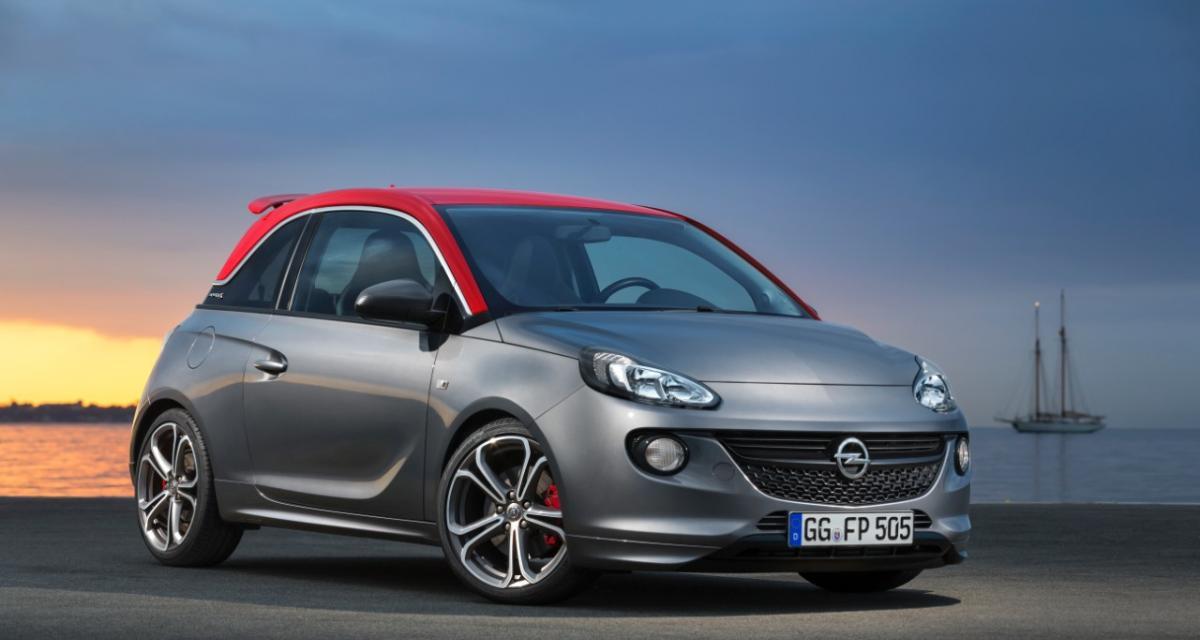 Opel Adam S : à l'assaut de l'Abarth 500 (Mondial 2014)