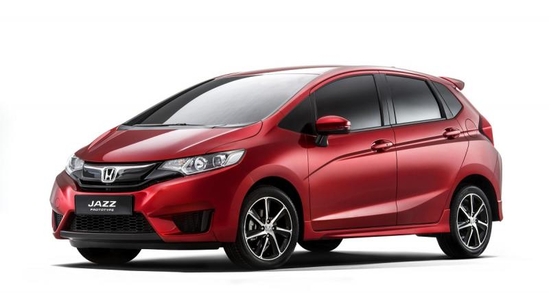 La Honda Jazz sera aussi au Mondial