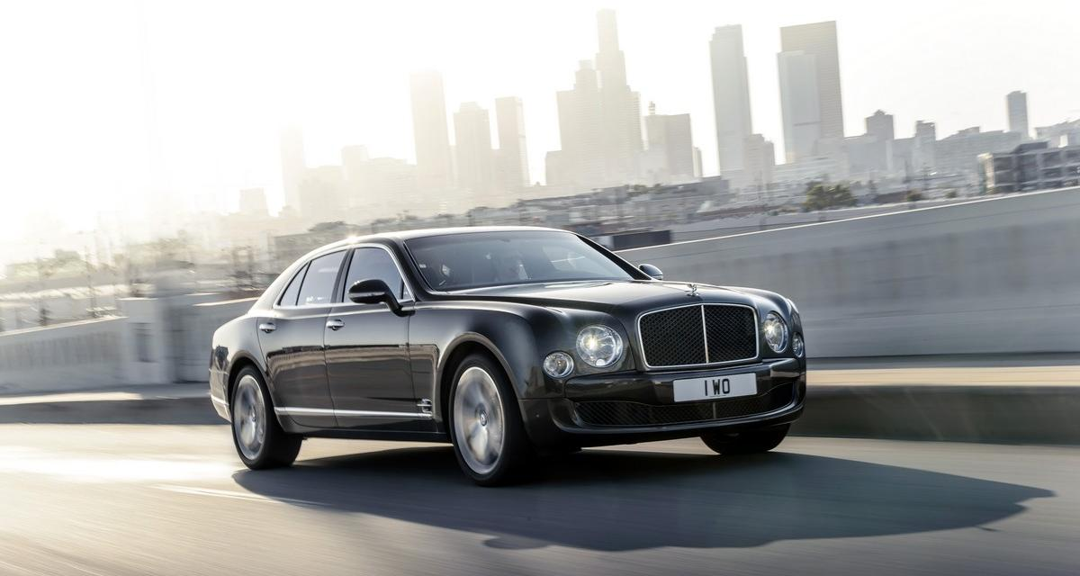 Bentley Mulsanne Speed : un peu de sportivité pour Paris
