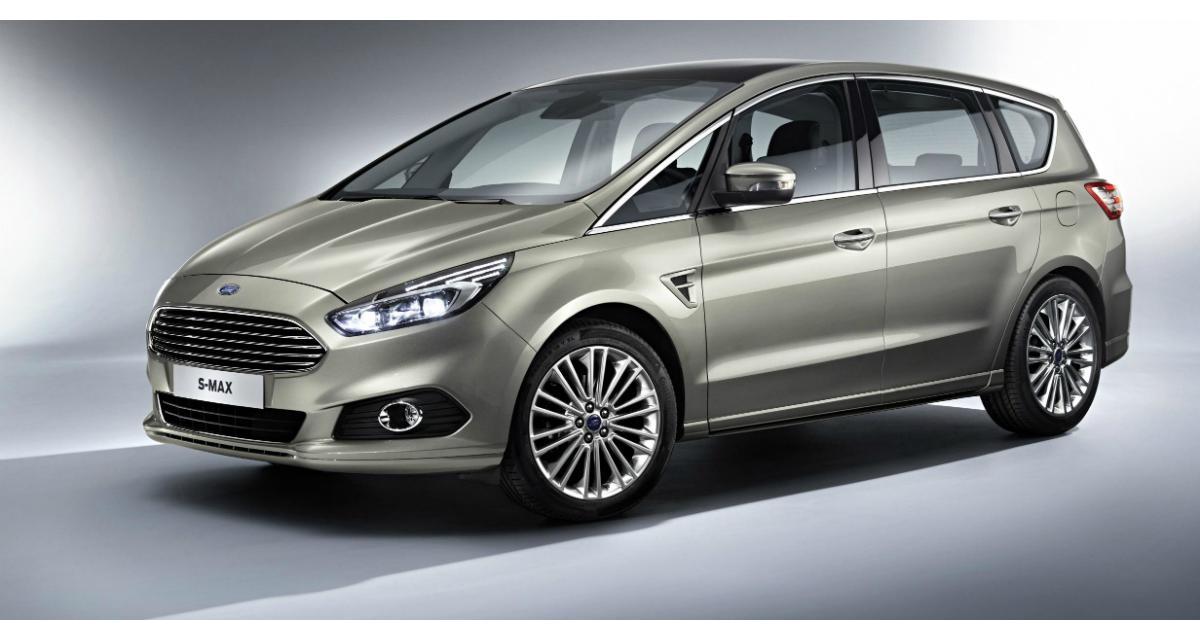 Mondial 2014 : Nouveau Ford S-Max